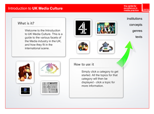 Introduction to UK Media Culture screen